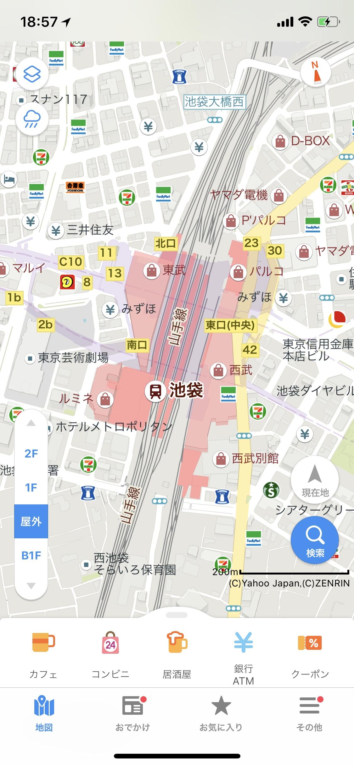 Yahoo Japan Map Ikebukuro Station