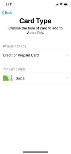 Wallet Card Type iOS 11.3 b4