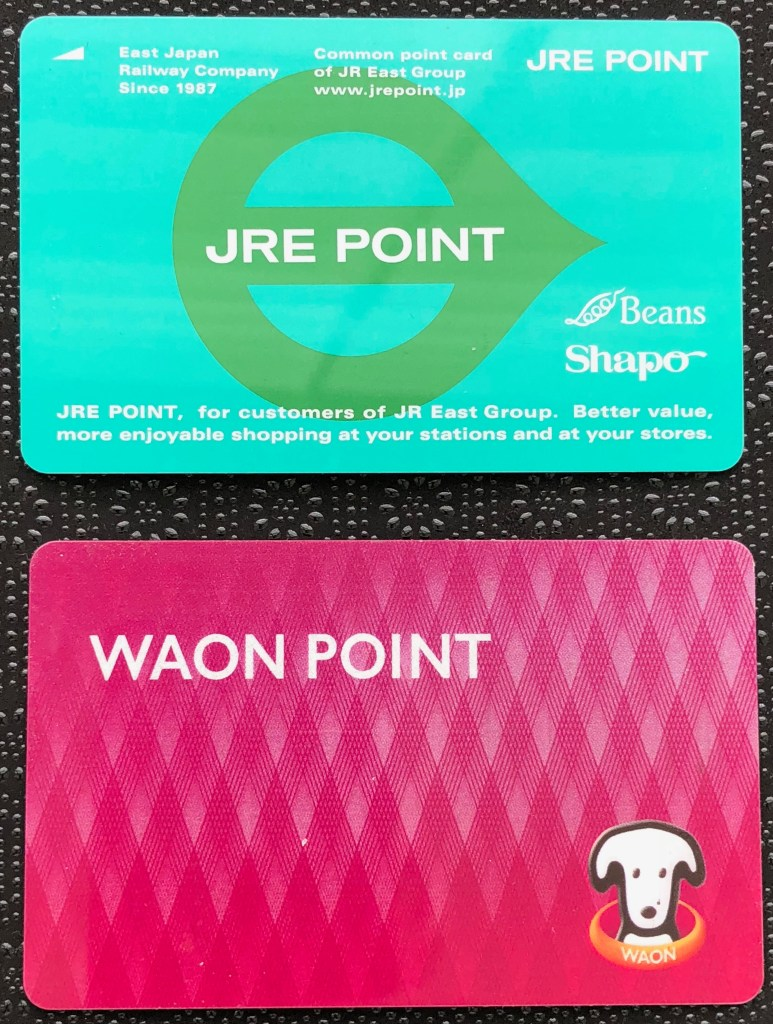 NFC points cards would help stop the plastic