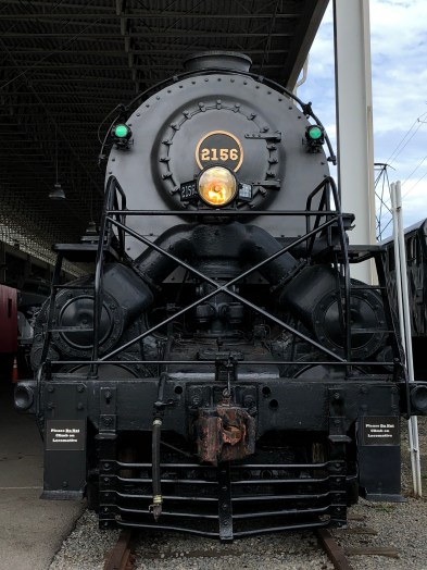 Y6a 2156, last survivor of engine class seen and heard in many famous O. Winston Link photographs and recordings made along the Norfolk & Western RR.