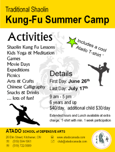 Atado Summer Camp Ad - 2015