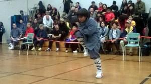 Kai performs Shaolin Northern Longboxing