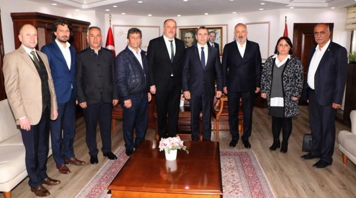 Silpagar ve Soyer'den Başkan vekili Tutuk'a ziyaret