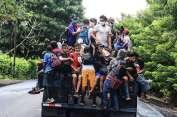 Guatemala expulsó a hondureños de caravana hacia EEUU