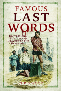 Famous Last Words book cover