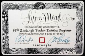 CZT Certificate