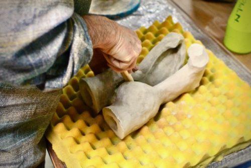 modelage sur mousse poterie - Atap Aubagne