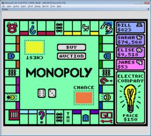 Monopoly  Atari 8Bit Computers  AtariAge Forums