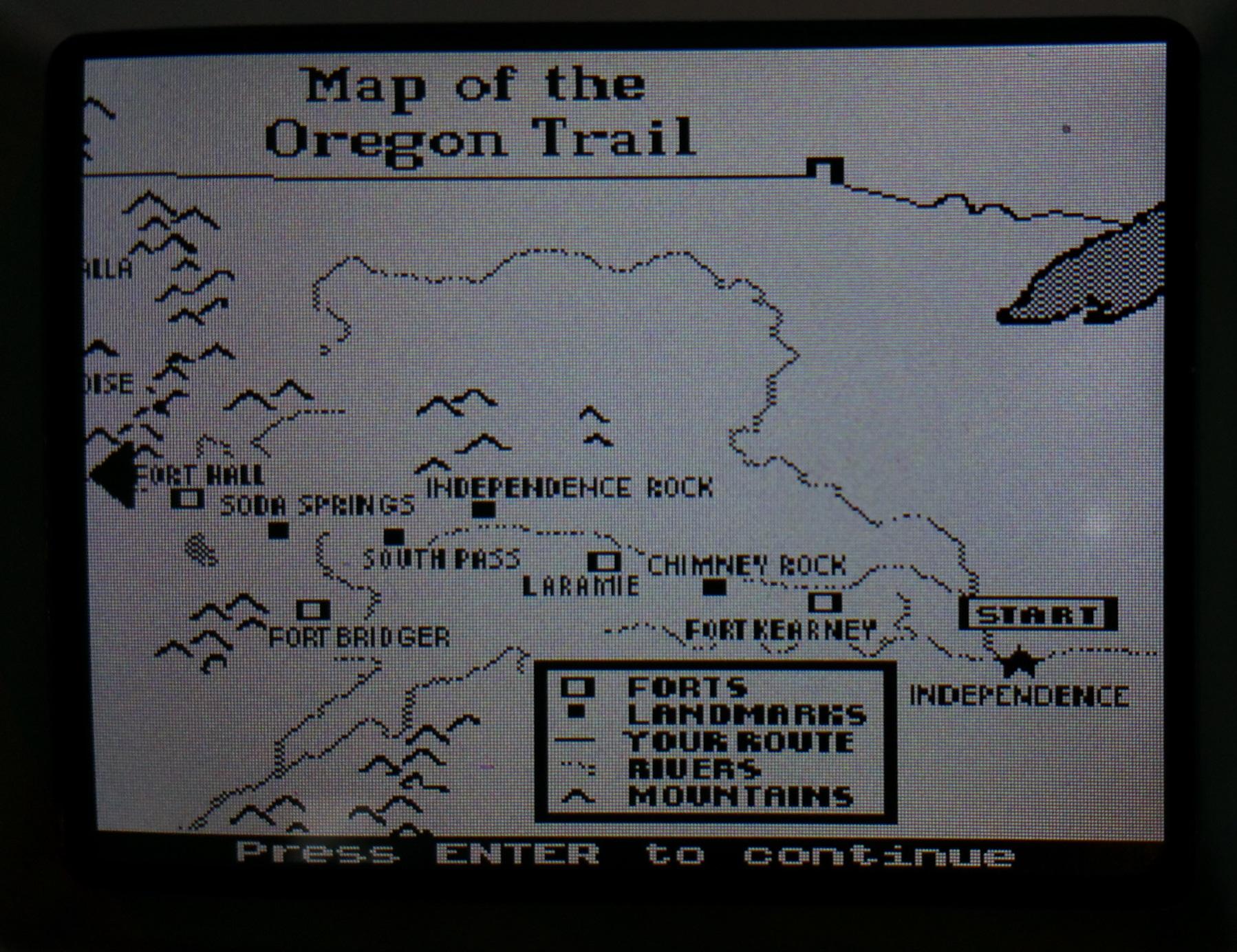 OT Oregon Trail Handheld Target Store Exclusive Intellivision Aquarius AtariAge Forums