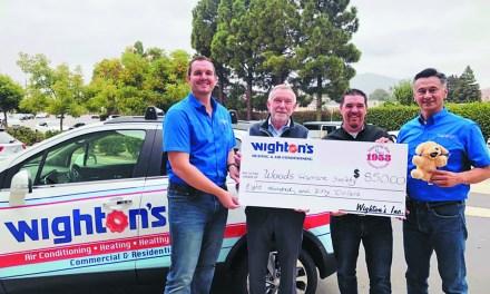 Wighton's Inc. Donates to Woods Humane Society