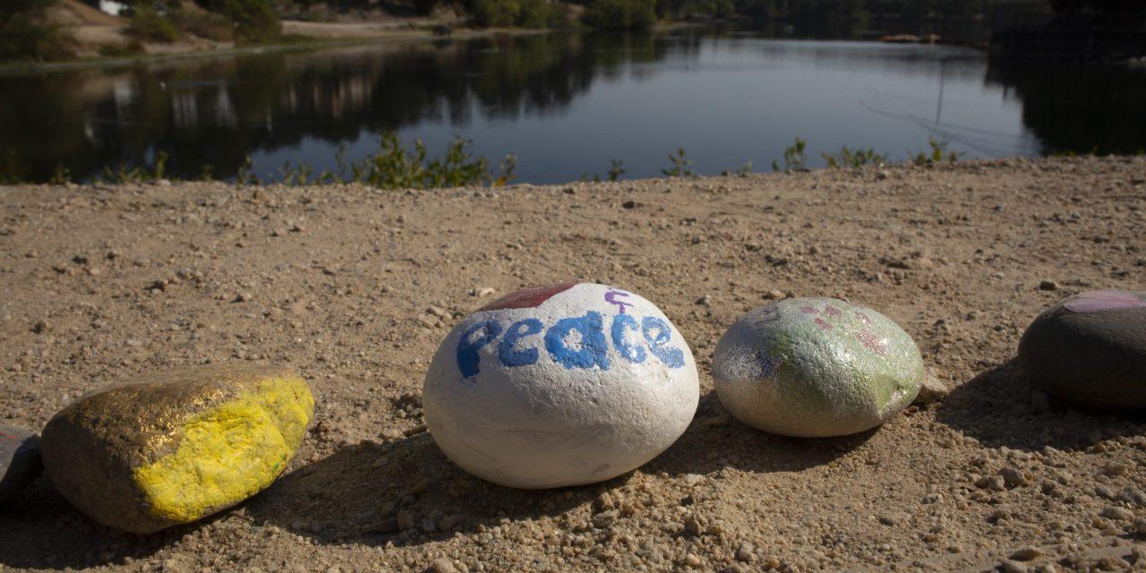 Painted Rock Trail Grows At Atascadero Lake
