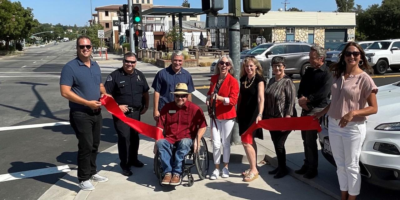 City Council Ribbon Cutting on Traffic Way