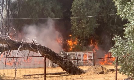 Atascadero Structure Fire on El Camino Real Wednesday