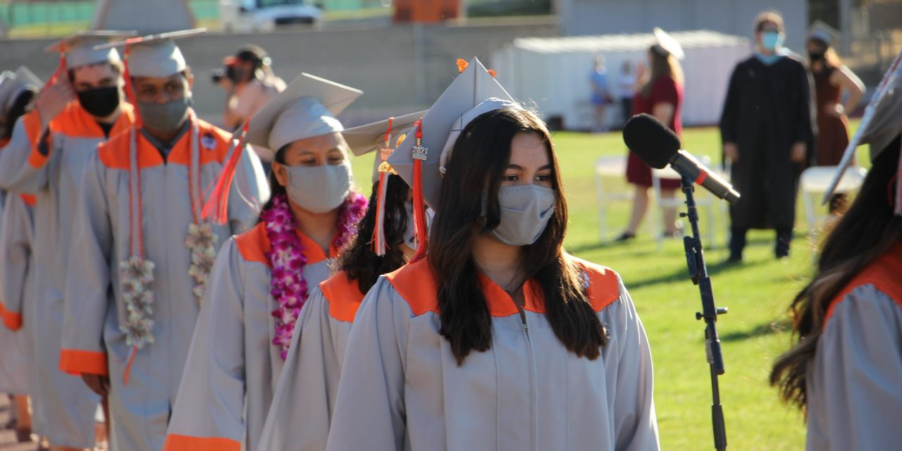 AHS Celebrates In-Person for 100th Graduation