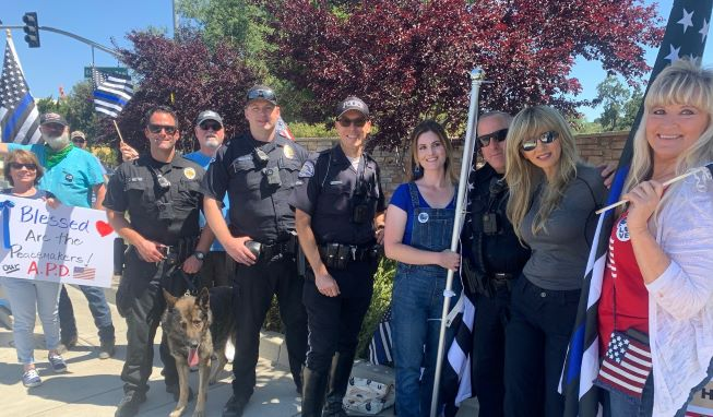 Community Shows Support for APD