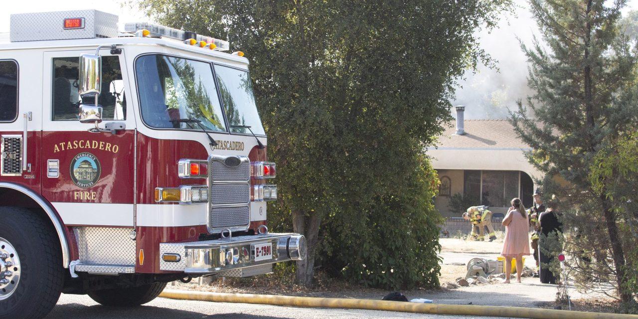 House Fire on Portola Sunday Morning