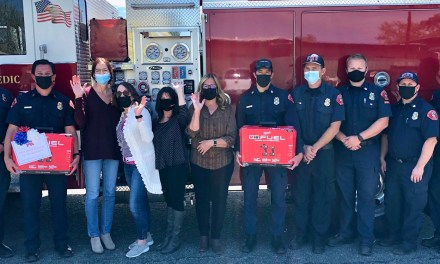 Atascadero Republican Women Federated Donation to Fire and Emergency Services