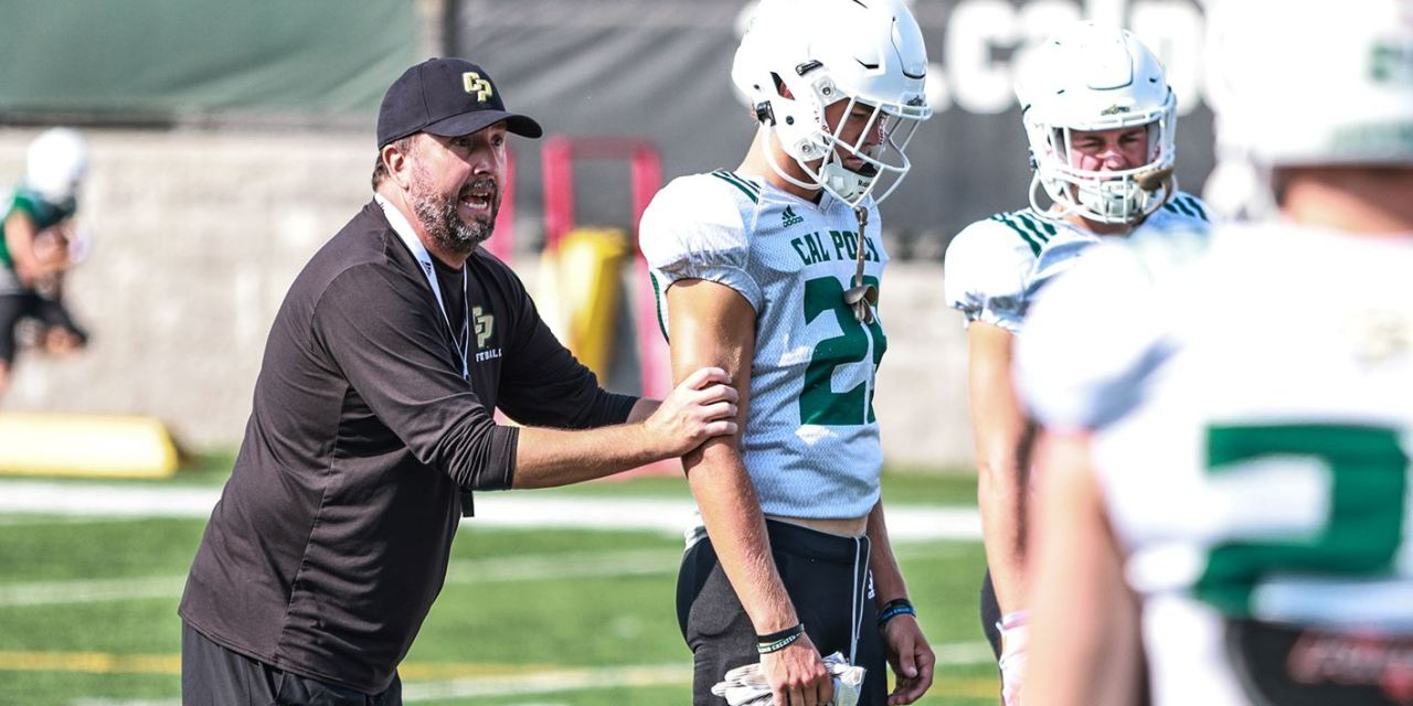 Cal Poly Wraps Up First Week of Fall Camp with Full Pads