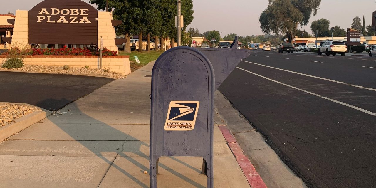 The USPS Blue-Steel Mail Boxes and 2020 Election
