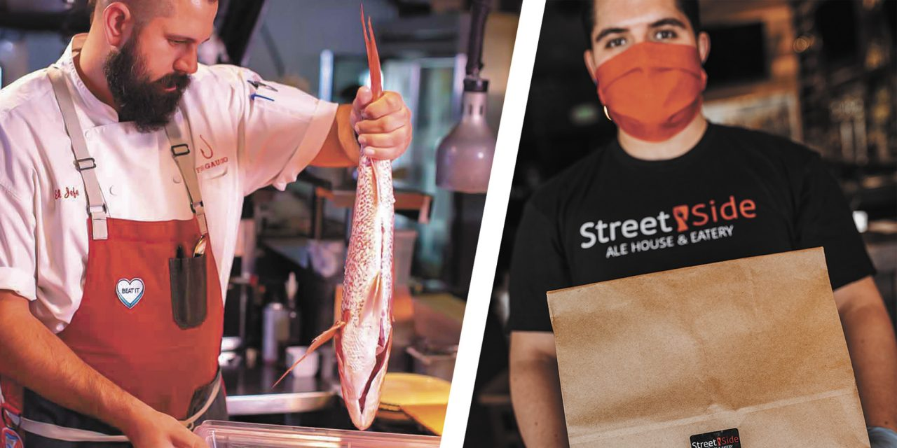 Two Local Restaurateurs PPPower Through