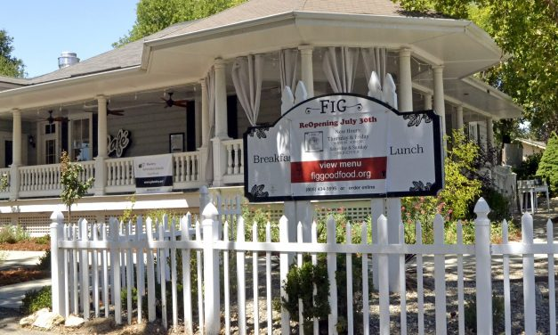 Fig Back Serving Good Food at Courtney's House