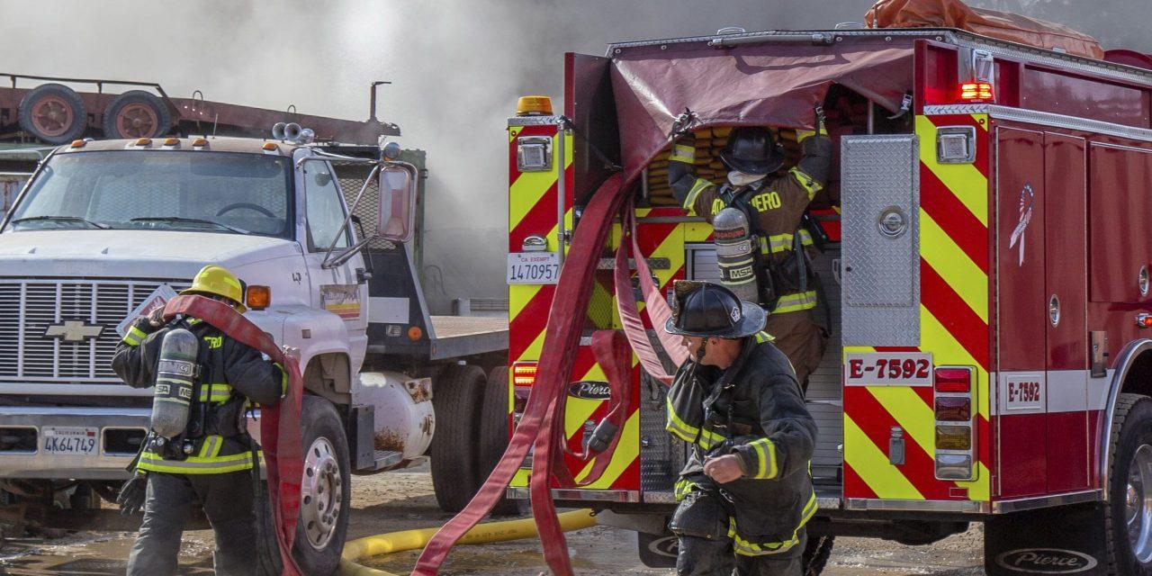 AFD Battles Motorhome Fire Thursday