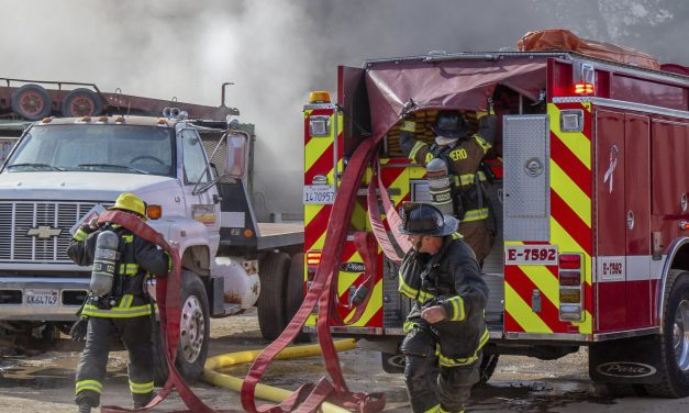 AFD Battles Motorhome Fire Thursday