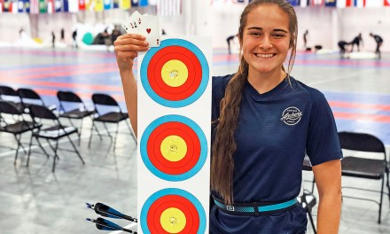 Isabella Otter Wins National Championship in Indoor Archery