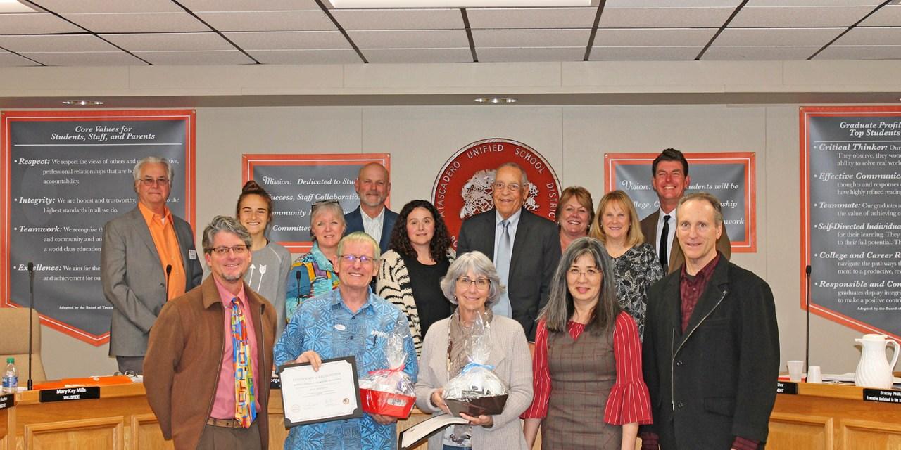 AUSD Board of Trustees Recognize Locals for Outstanding Achievements, Volunteer Spirit