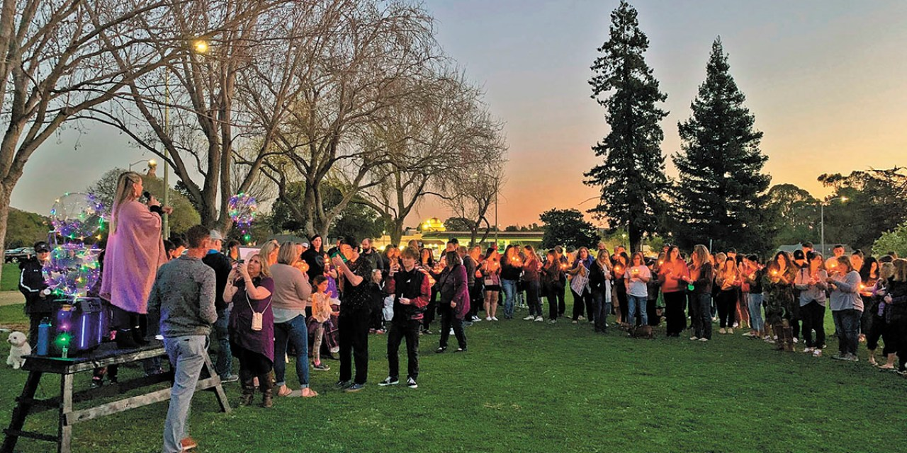 Supporters Host Candlelight Vigil for Kristin Smart