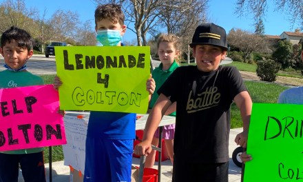 Central Coast Crushers Raise $2500 With Lemonade Stand