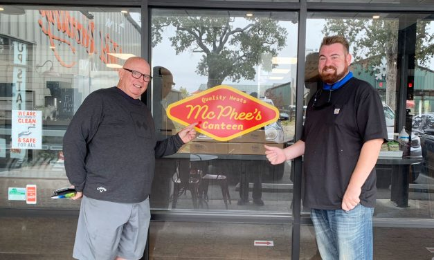 McPhee's Canteen Opening in Tin City
