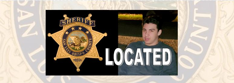 LOCATED: SLO County Sheriff Locates At-Risk Missing Person