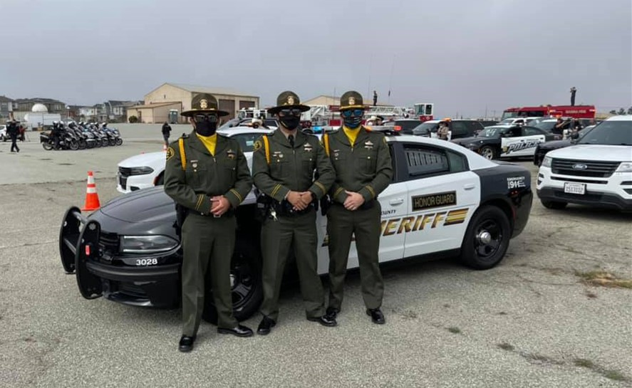 Monterey County Sheriff's Participate in 23rd Annual Peace Officers Memorial and Procession