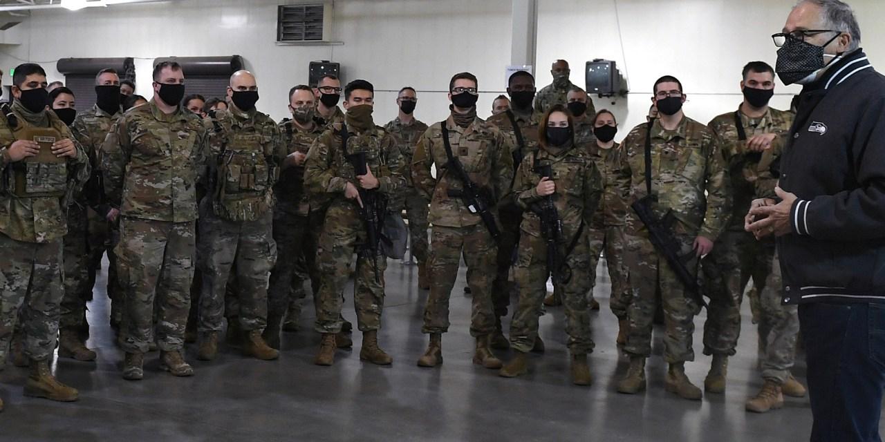 Teamwork Leads to Historic Mobilization of Washington Guard