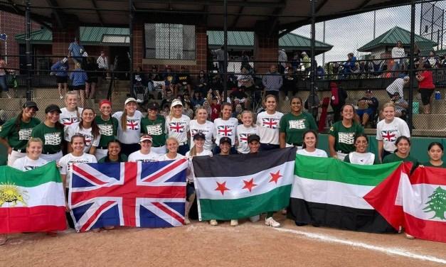 Local Star Represents Great Britain in Softball