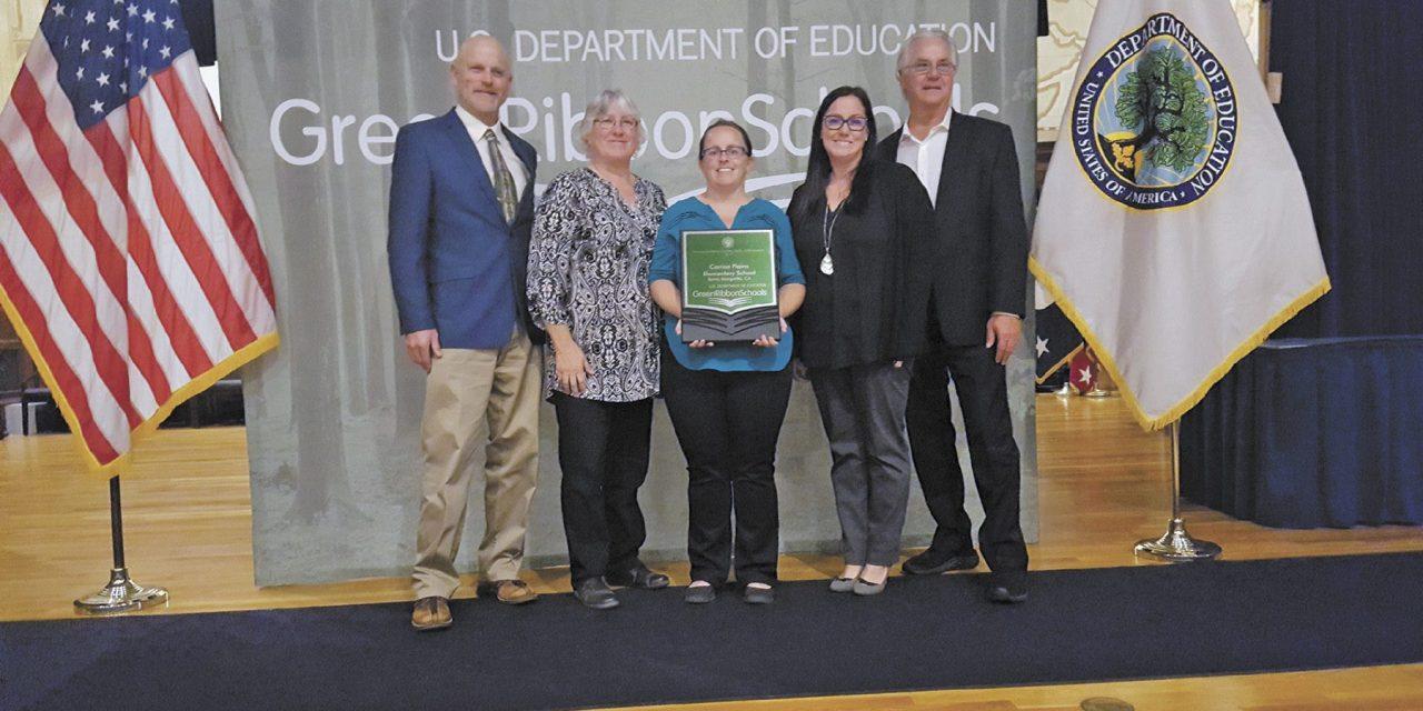Local School Earns Green Ribbon Award