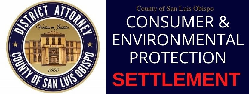 SLO County DA Dow: $1.49 Million Settlement Reached with Bed Bath & Beyond, Inc.