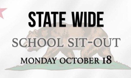 Californian Statewide School Sit-Out Planned for Oct. 18