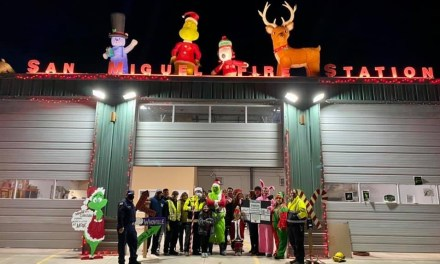 San Miguel Fire Association Brings Lots of Christmas Cheer