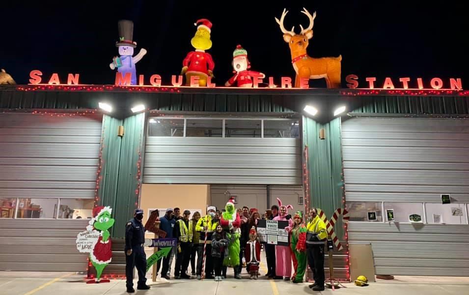 San Miguel Fire Association Brings Lots of Christmas Cheer