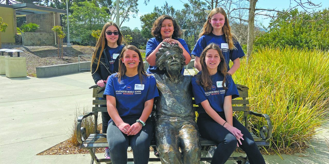 AMS Sends All-Girl Team to Middle School Science Bowl