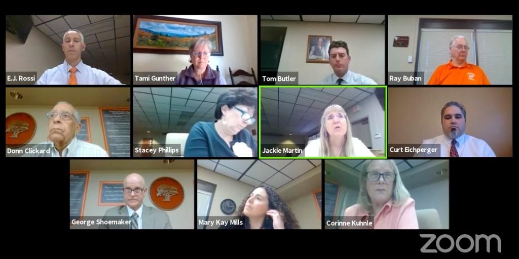ausd zoom board meeting