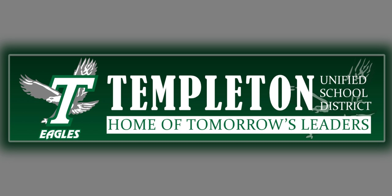 Templeton Schools Announce Policy For National School Lunch and Breakfast Program