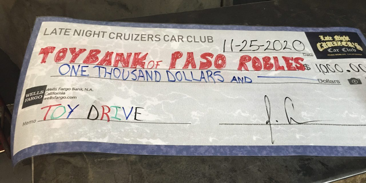 Toy Bank of Greater Paso Robles Honors Donors