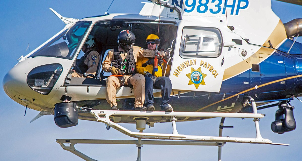 Atascadero Fire Department Conducts Hoist Training With the Help of CHP Helicopter
