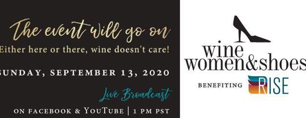 2020 Wine Women & Shoes Goes Virtual