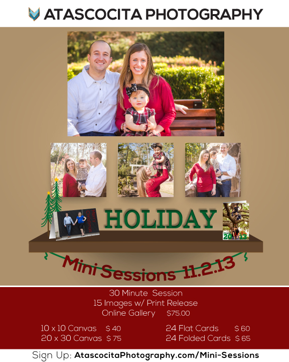Atascocita Photography Holiday Mini Session