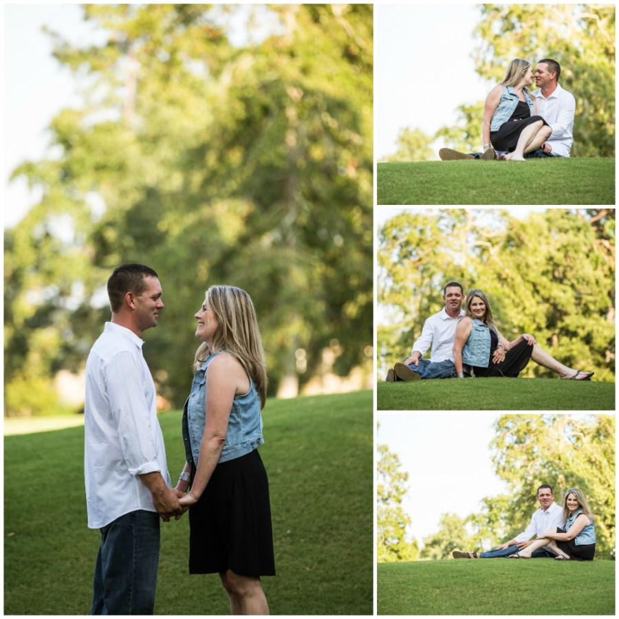 Oakhurst at Kingwood Engagement Photographer