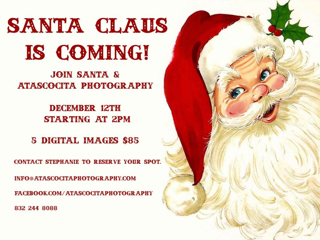 Santa Photo Atascocita Photography